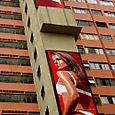 Giant ads in Brazil