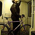 vélo et métro à Berlin